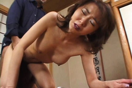 Orgasm woman mature asian