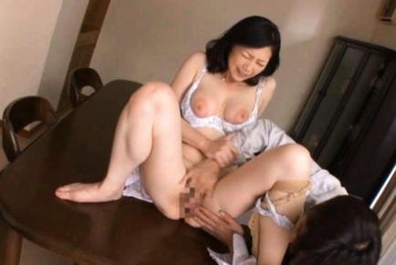 Maya Sawamura is a hot mature Asian teacher. She likes wearing sexy lingerie ...