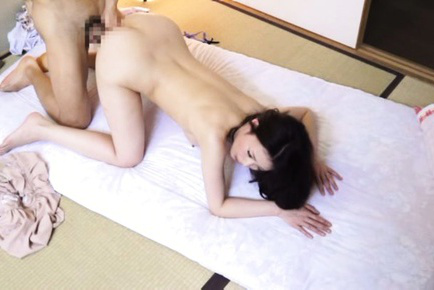 Japanese av model. Japanese AV Model with playful cans out of lingerie rides penis