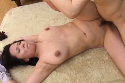 Miki sato. Miki Sato Asian with round jugs is screwed including
