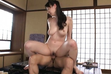 Hitomi oohashi. Hitomi Oohashi Asian has boobs fondled while is