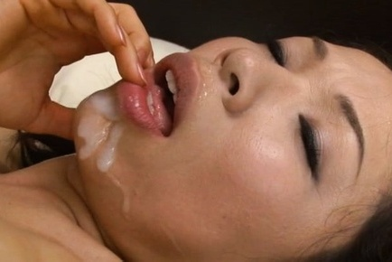 Yukino shindou. Yukino Shindou Asian with considerable breasts gets cumshot on mouth after have sexual intercourse