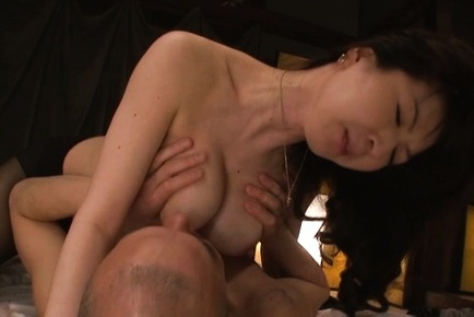 Hitomi oohashi. Hitomi Oohashi Asian has huge boobs sucked and