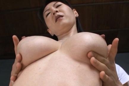 Hitomi oohashi. Hitomi Oohashi Asian has nasty tits fondled and nipples rubbed