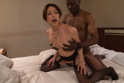 Japanese av model. Japanese AV Model in stockings gets a lot of
