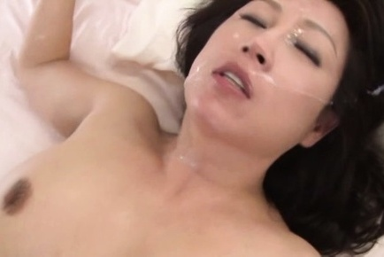 Neko ayami. Neko Ayami Asian with nasty boobies is nailed deeper