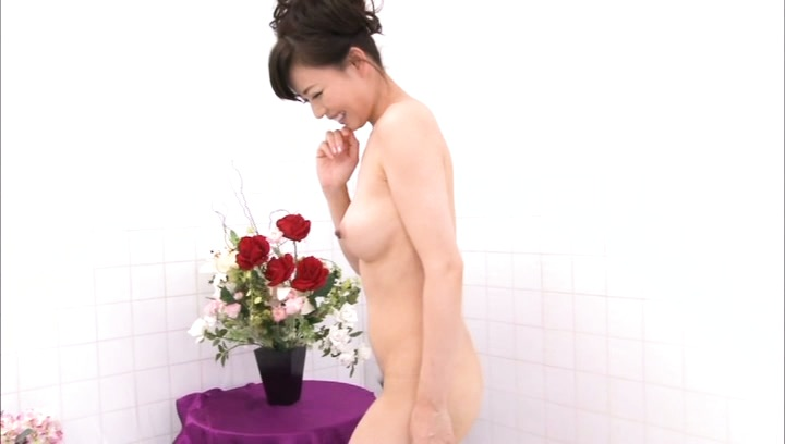 Eriko miura. Eriko Miura Asian with hot behind takes panty off